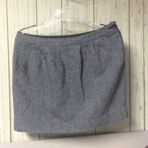 Old Navy Woven B&W mini skirt